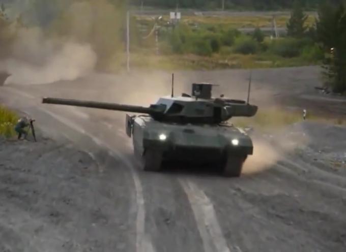 UralVagonZavod e Armata