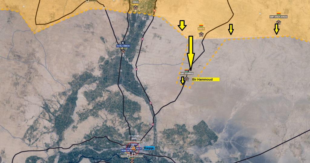 Fronte siriano-curdo su Raqqa 6-3-2016