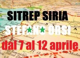 Situazione operativa sui fronti siriani dal 7 al 12 Aprile 2016