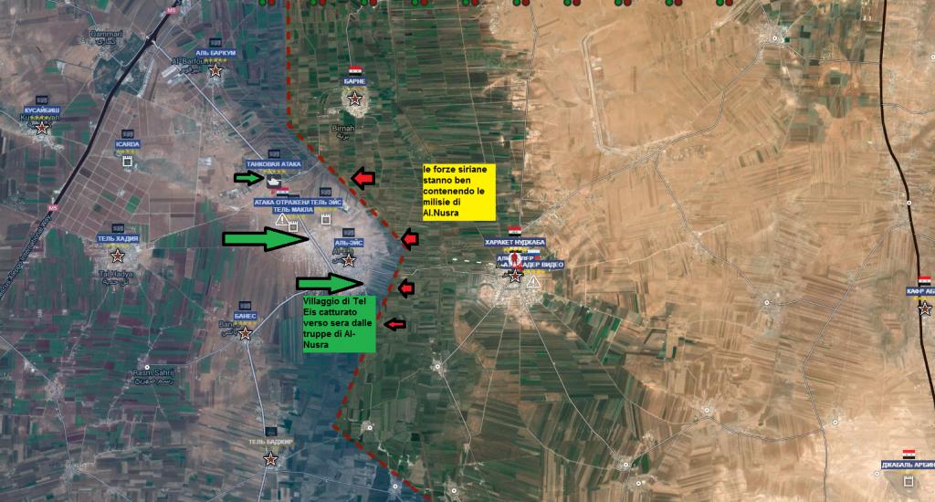 Aleppo fronte sud 2-4-2016