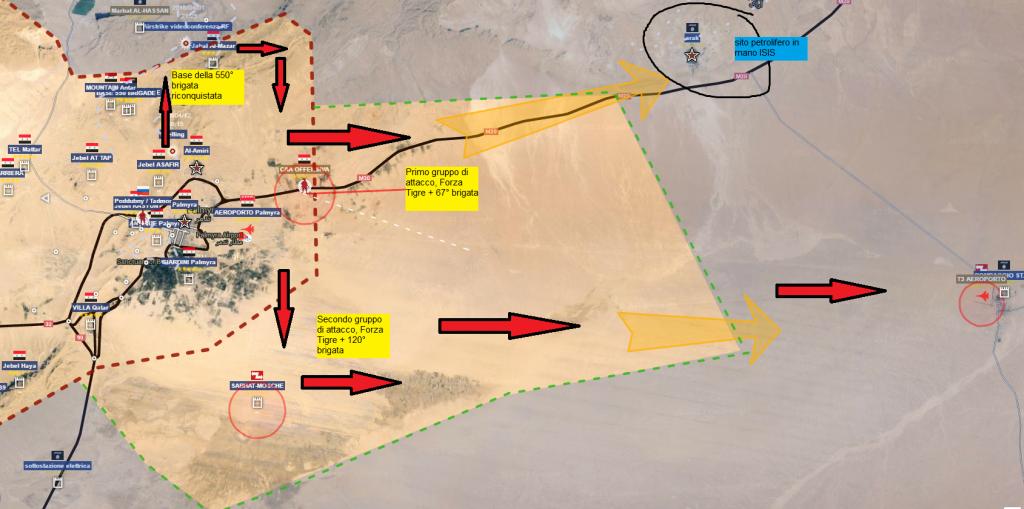Palmira, offensiva del 21-4-2016