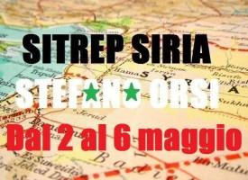 Situazione operativa sui fronti siriani dal 2 al 6 Maggio 2016