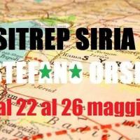Situazione operativa sui fronti siriani dal 22 al 26 Maggio 2016