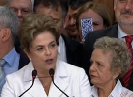 Il Presidente del Brasile, Dilma Rousseff, si rivolge alla nazione dopo l'impeachment