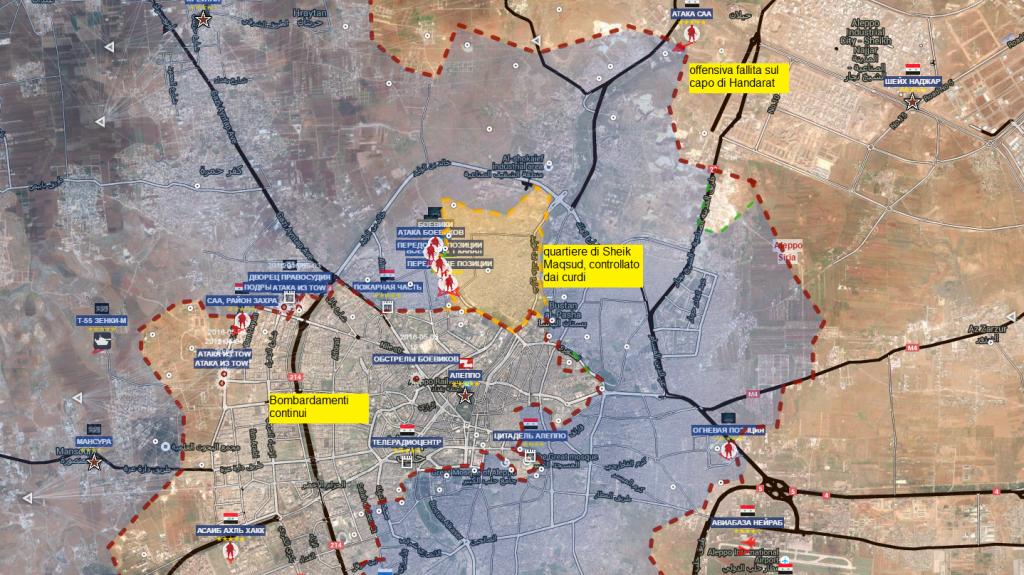 Aleppo città 13-5-2016