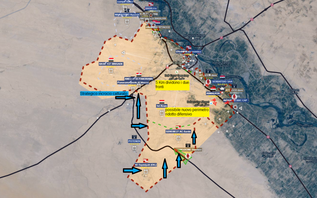 Deir Ezzour offensiva ISIS 18-5-2016