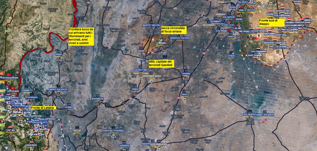 Fronte Aleppo Latakia 6-5-2016