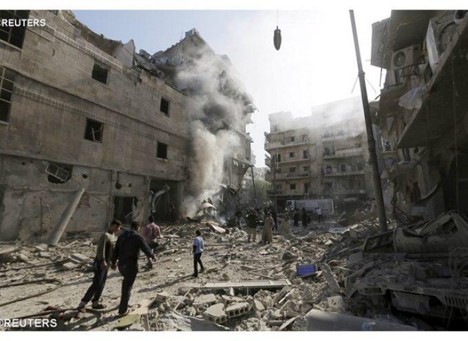 """I """"ribelli moderati"""" bombardano Aleppo"""