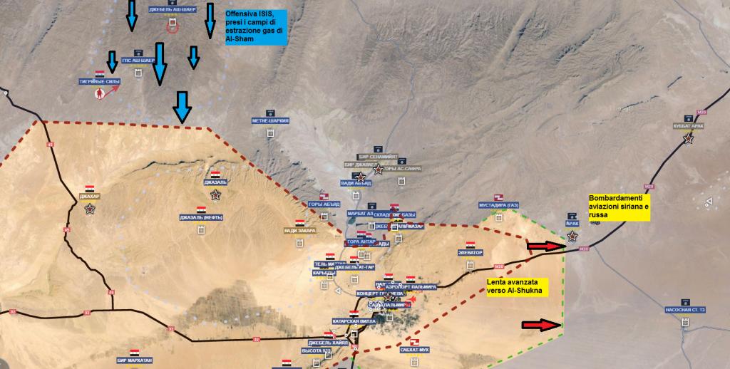 Fronte esteso di Palmira 6-5-2016
