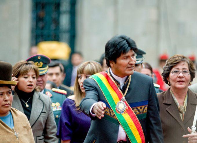 Gli USA si stanno preparando a cacciare Evo Morales