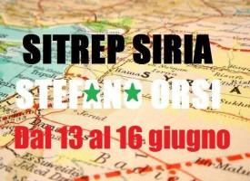 Situazione operativa sui fronti siriani dal 13 al 16 Giugno 2016