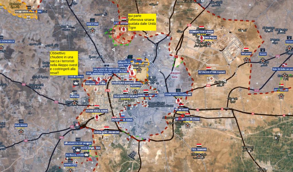 Aleppo tentata offensiva del 9-6-2016