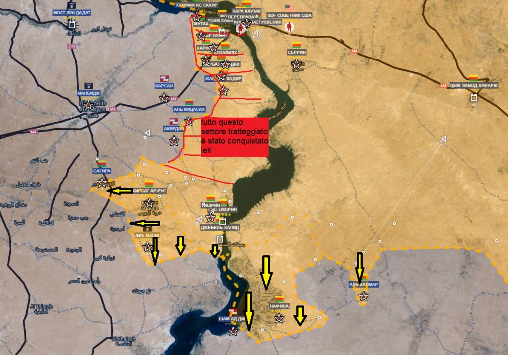 Fronte curdo , offensiva secondaria a nord est di Aleppo 2-6-2016