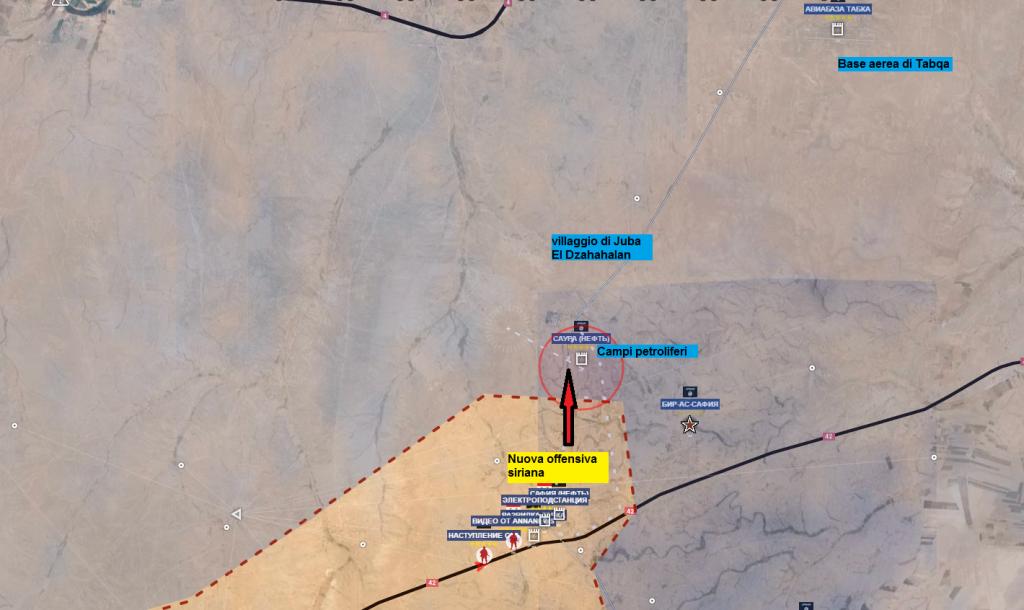 Raqqa dopo prima offensiva ISIS, l'esercito siriano tenta una controffensiva 20-6-2016