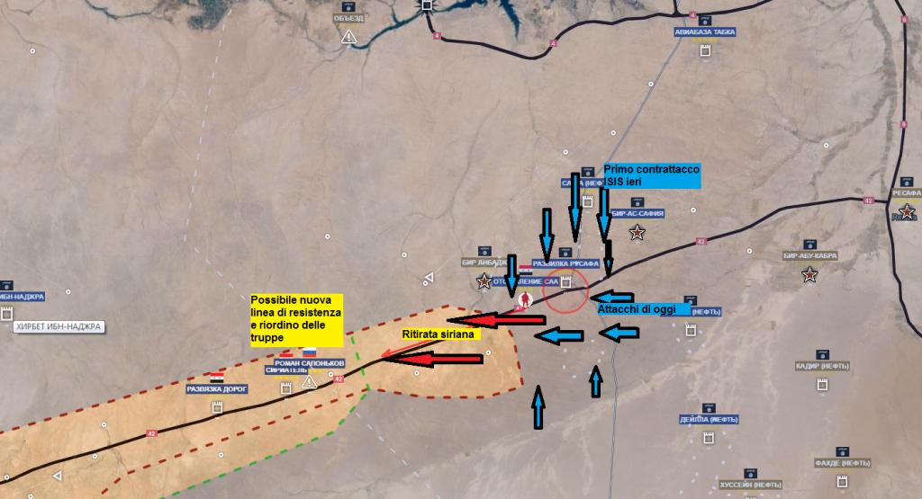 Raqqa secondo aggiornamento del 20-6-2016