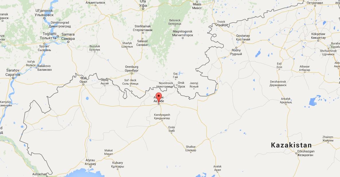 La posizione di Aktobe, fra Russia e Kazakhistan, ne fa un obiettivo preferenziale