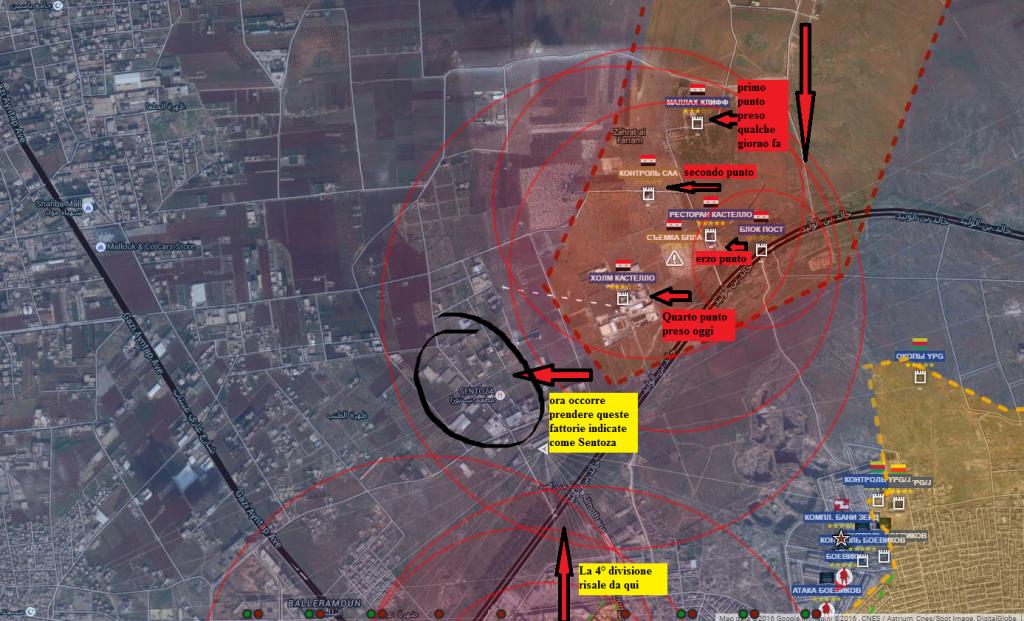 Avanzata siriana verso la chiusura totale di Aleppo est, con buone posizioni difensive 17-7-2016