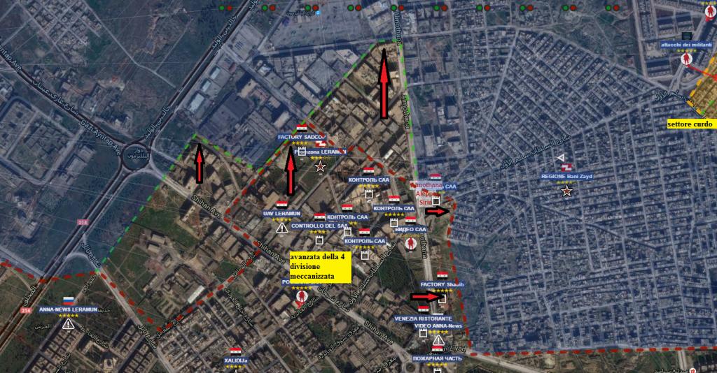 Aleppo nord ovest 13-7-2016