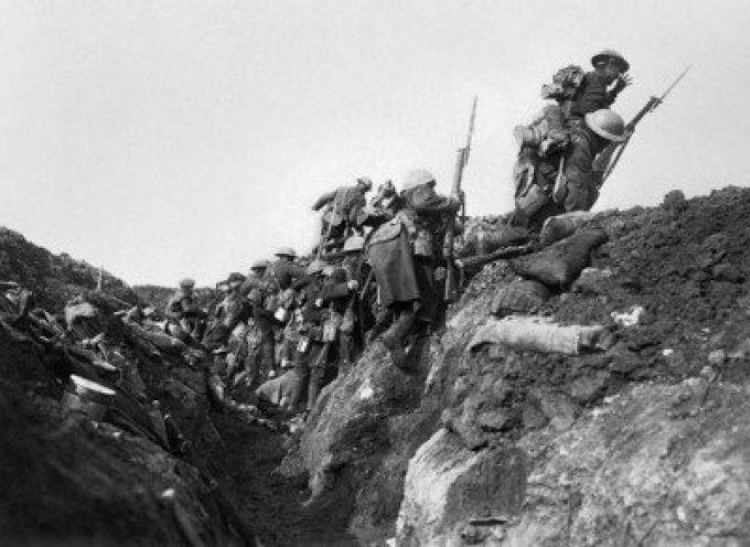 """1° luglio 1916, Battaglia della Somme: la """"Grande Spinta in Avanti"""" omicida del Generale Haig"""