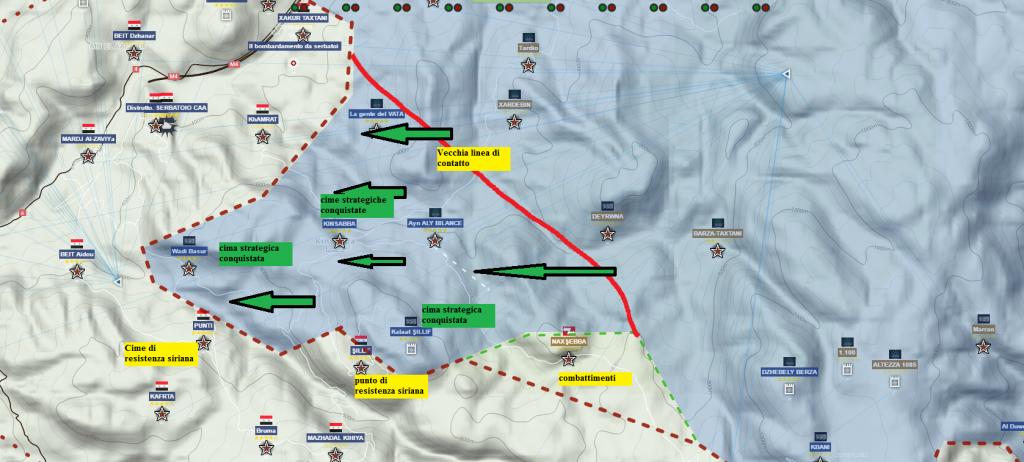 Latakia L'offensiva terrorista