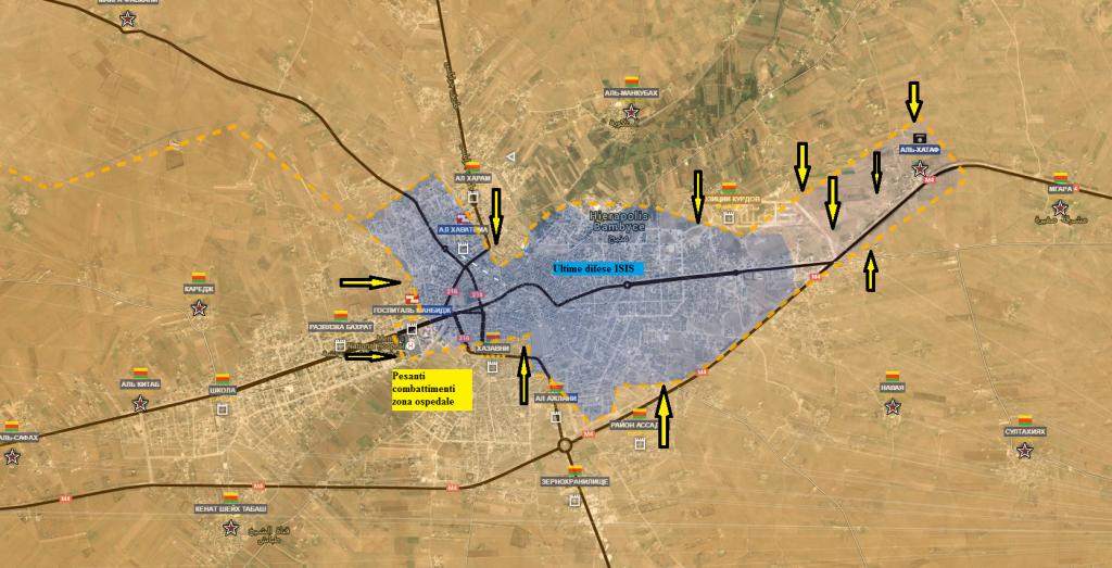 Fronte nord provincia di Aleppo, il fronte curdo Manbij 15-7-2016