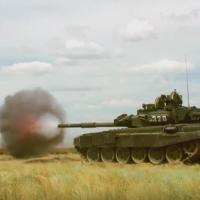 Il T-90 visto dall'interno