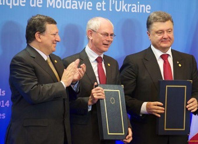 Primi bilanci dell'associazione dell'Ucraina con la UE
