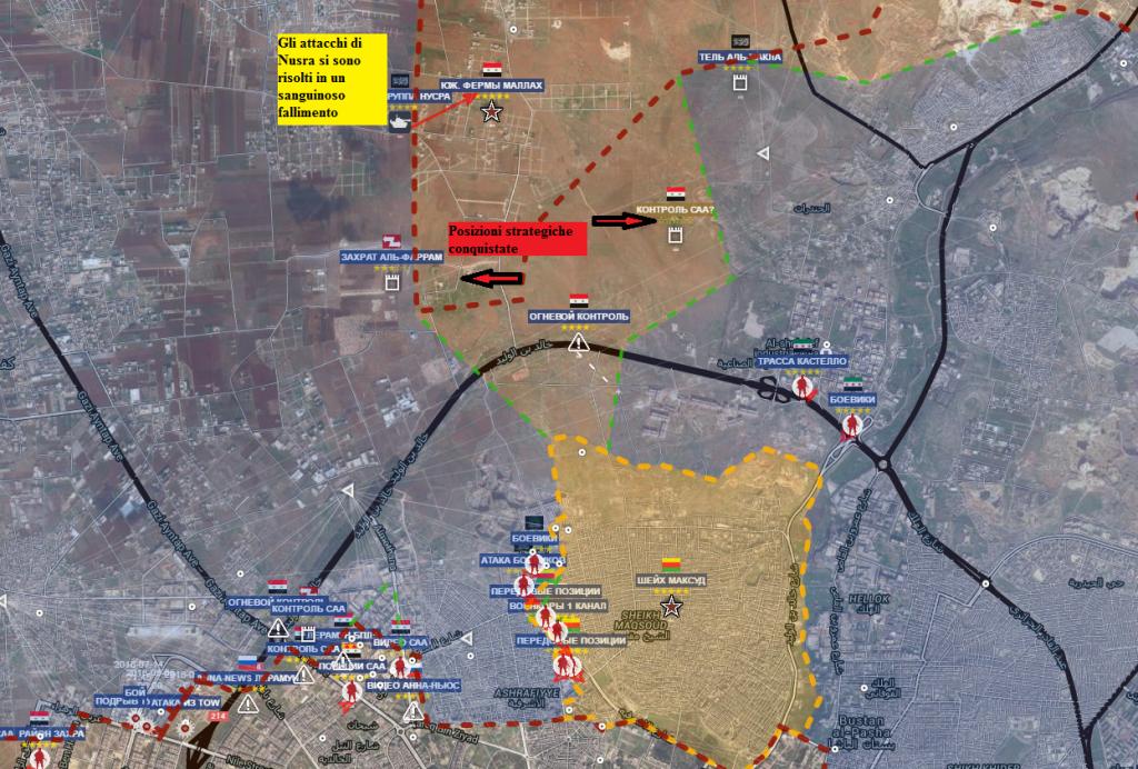 Aleppo nord 15-7-2016