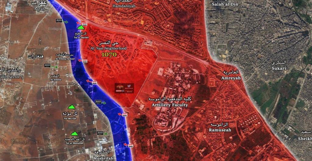 Aleppo 1-8-2016 il pomeriggio