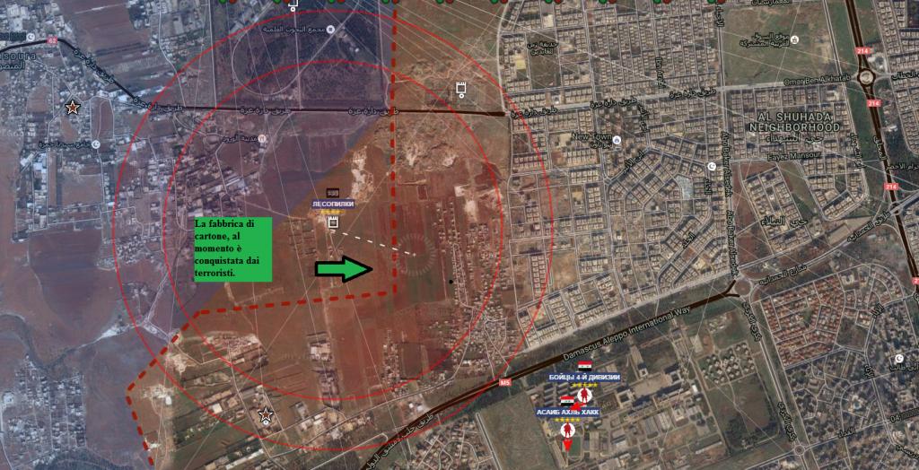 Aleppo Fabbrica di cartone 2-8-2016