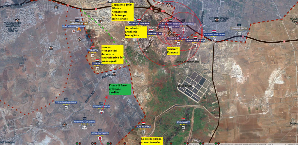 Aleppo Accademia militare e complesso 1070 2-8-2016
