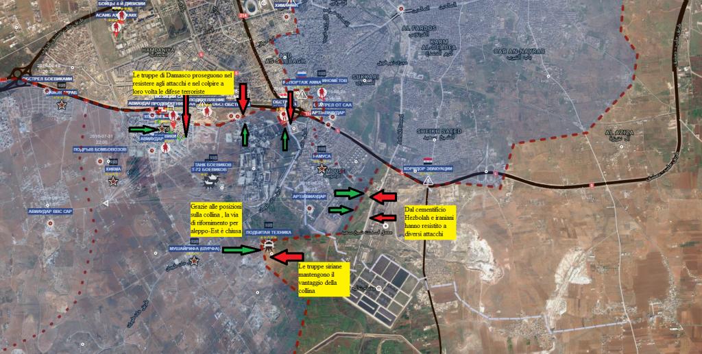 Aleppo  il Corridoio 26-8-2016