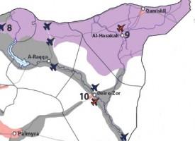 """Laggiù l'ISIS non c'è. Forse le truppe statunitensi presenti ad Hasakah stanno """"consigliando"""" i Curdi di attaccare l'esercito siriano?"""