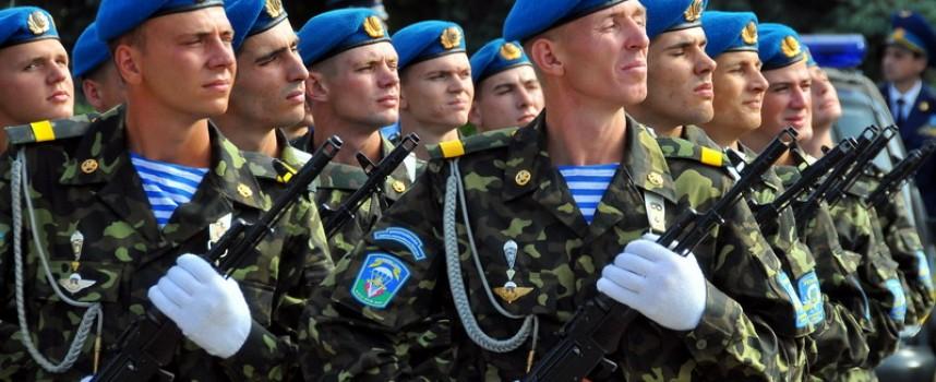 Gorlovka celebra la giornata delle Forze Aviotrasportate