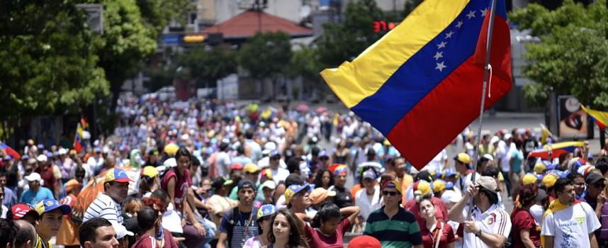 L'altra manifestazione venezuelana