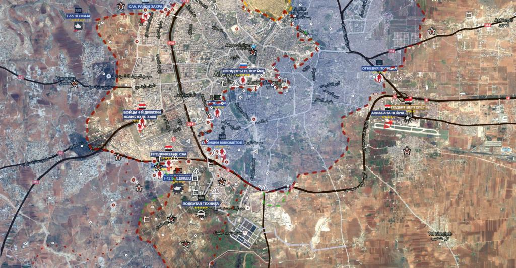 Aleppo 12-9-2016 il corridoio siriano riaperto a sud di Aleppo
