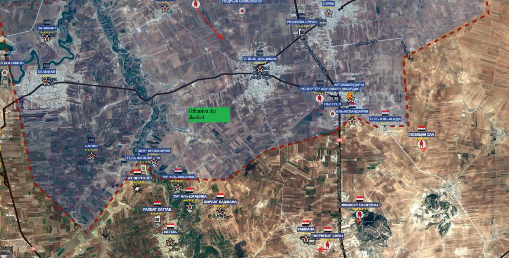 Hama il fronte jihadista 12-9-2016