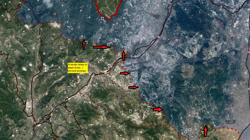 Latakia 12-9-2016 offensiva siriana