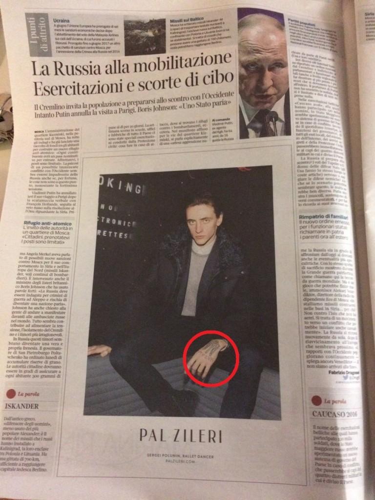 Corriere della Sera 12 ottobre