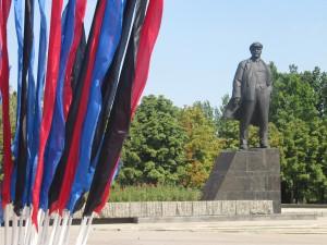 """Donetsk, Novorussia: """", col perdurare della crisi, le due Repubbliche potrebbero diventare un punto d'aggregazione non solo per i russo etnici, ma di tutta la popolazione dell'Ucraina sud-orientale."""" Foto Eliseo Bertolasi"""