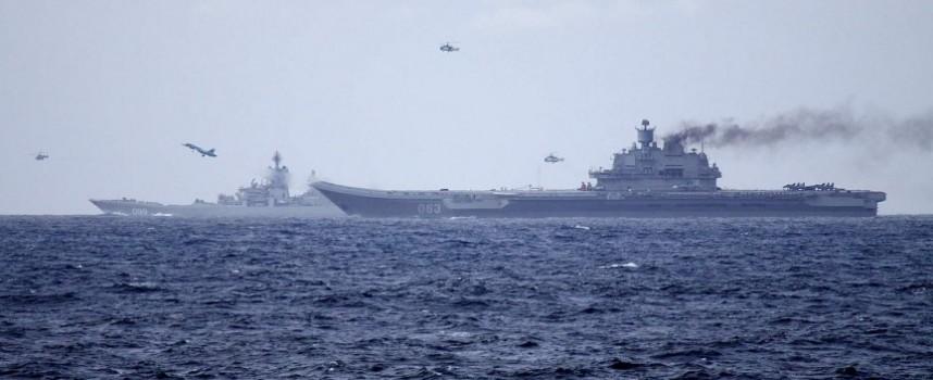 Cerchiamo di dare un senso all'unità operativa navale russa al largo delle coste siriane
