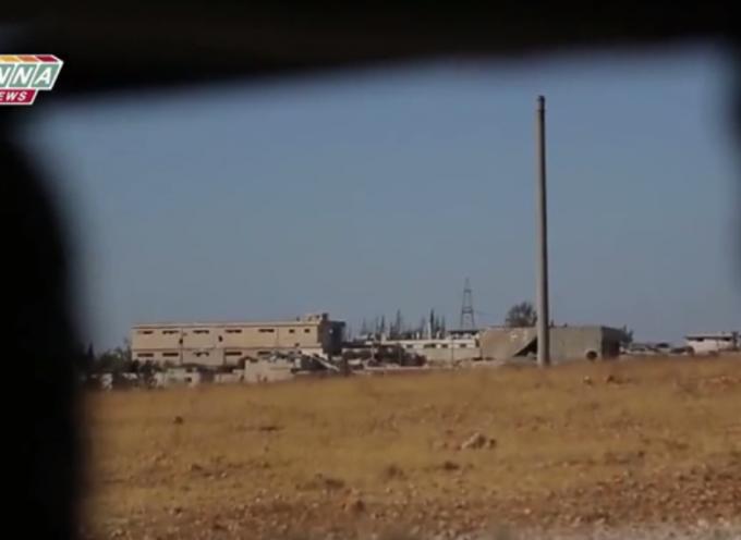 """Aleppo – La linea del fronte nel quartiere """"al-Assad"""""""