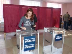 """Elezioni a Donetsk: """"Io ho partecipato personalmente all'evento nella città di Donetsk come osservatore internazionale invitato dal governo repubblicano. Le elezioni si sono svolte pacificamente in totale libertà senza alcuna costrizione o incidente."""" Foto di Eliseo Bertolasi"""