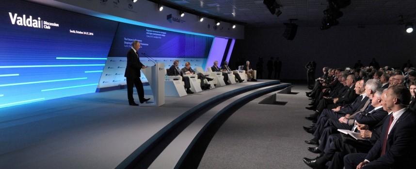 Putin a Valdaj 2016: per i Popoli della Terra, contro le Oligarchie transnazionali