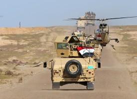 Strane alleanze si formano nel corso dell'Operazione Mosul