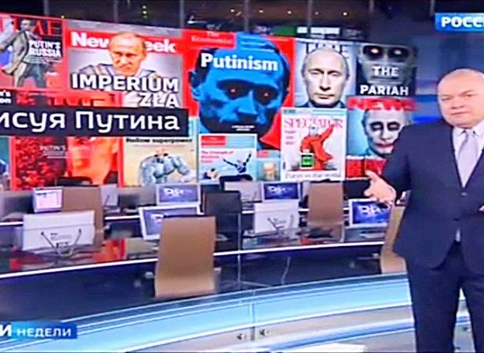 I media russi amano davvero la campagna per demonizzare Putin