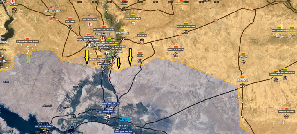 Raqqa, campagna del SDF 14-11-2016