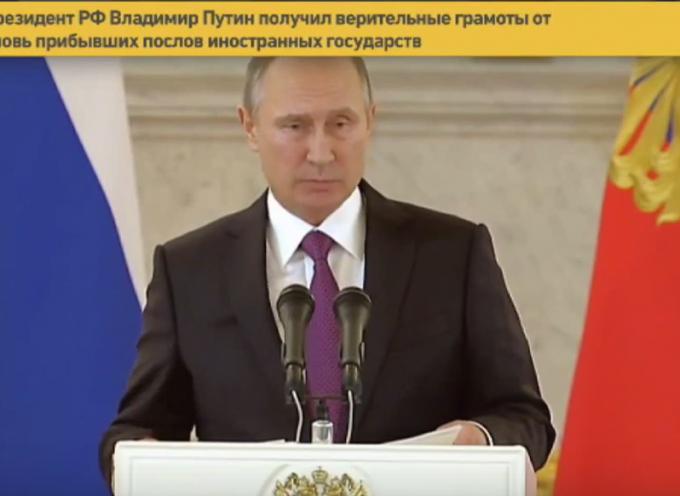 Putin si congratula con Trump per la sua vittoria elettorale