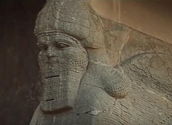 Nimrud prima e dopo l'ISIS