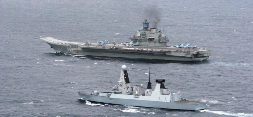 La NATO ha appena tentato di sabotare l'Admiral Kuznetsov?